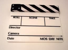 White Director's Clapboard